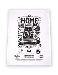 Outpawed Fundraiser Tea Towel 52cm x 73cm