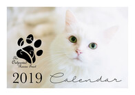 SALE: Outpawed 2019 Fundraising A4 Wall Calendar