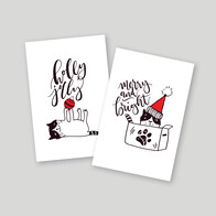 Outpawed Fundraising  Christmas A6 Cards Set of 10